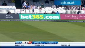 Clydesdale Bank 40 Final – Warwickshire highlights