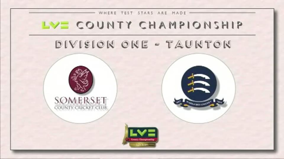 Somerset v Middlesex - Day 4