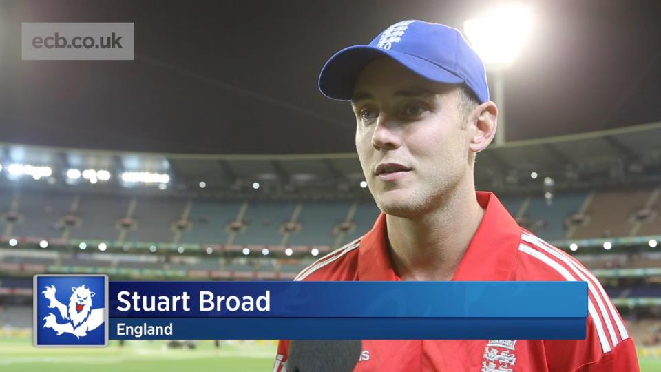 Completely outplayed says Broad