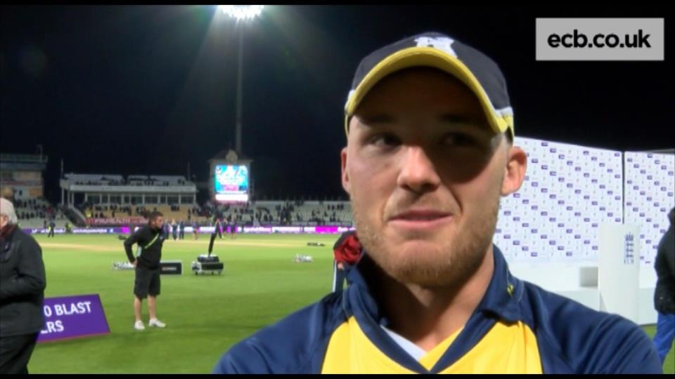 Evans thrilled as Bears win Blast