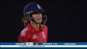 England Women v Australia Women - 1st T20 England innings highlights