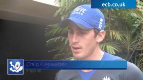 Kieswetter looking forward