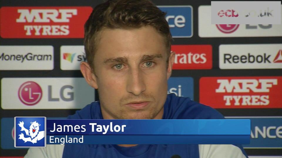 England 'full of confidence' - James Taylor
