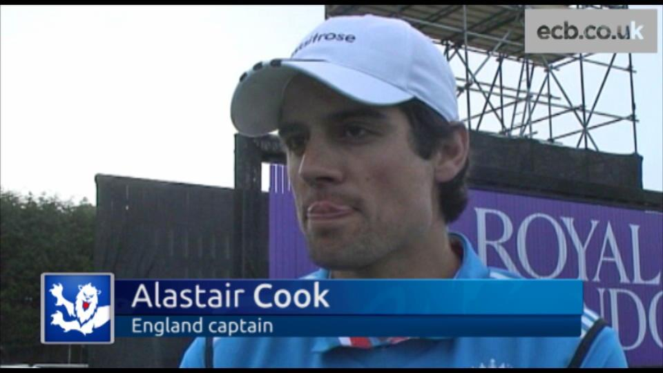 Cook pleased to get win
