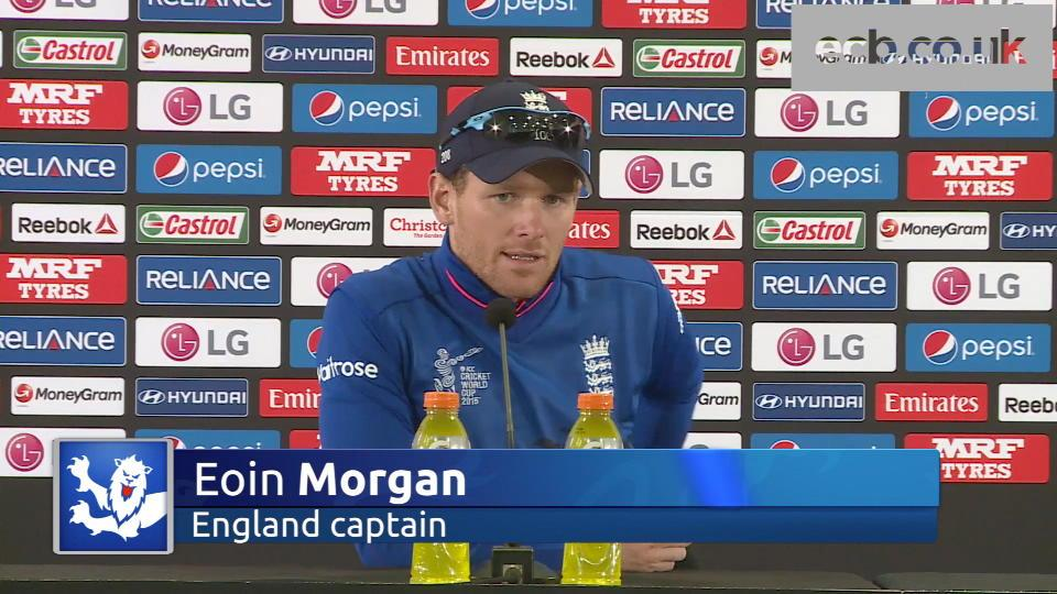 England response delights captain Morgan