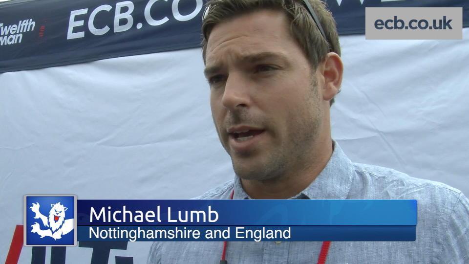 Lumb targets England return