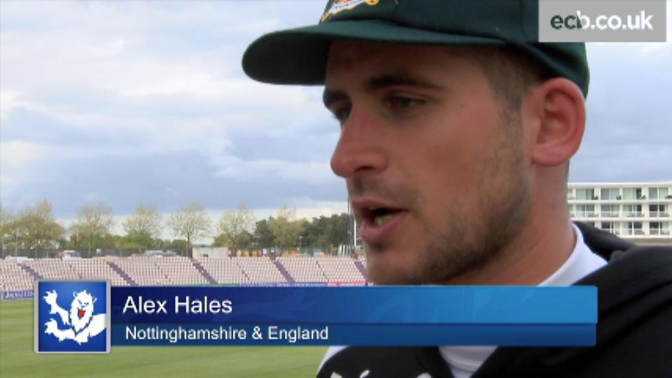 Fresh start for England - Hales