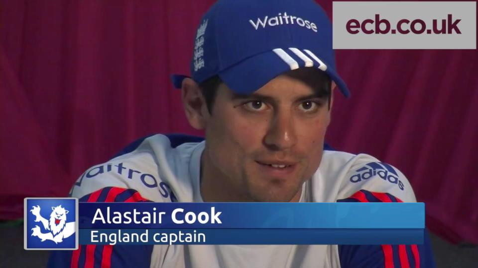 Cook hails Anderson