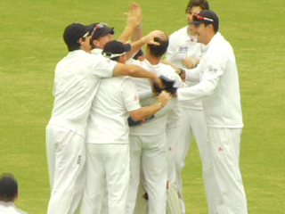 Trott's amazing catch