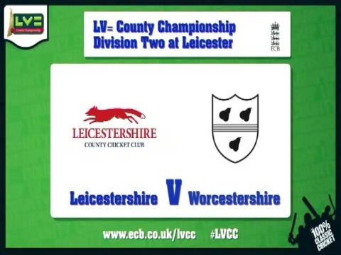 Leicestershire v Worcestershire - Day 1