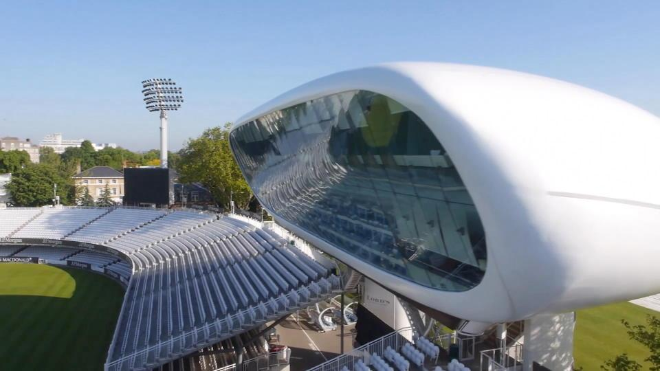 Atherton takes Lord's pavilion tour