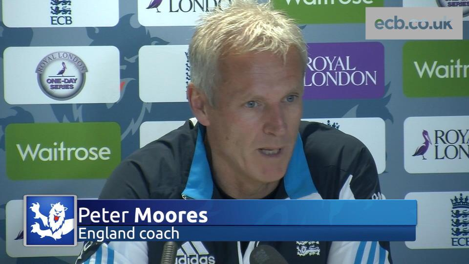 Moores wants response at Edgbaston