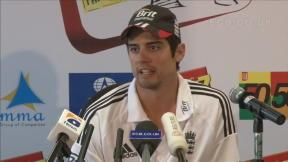 Cook pleased with day