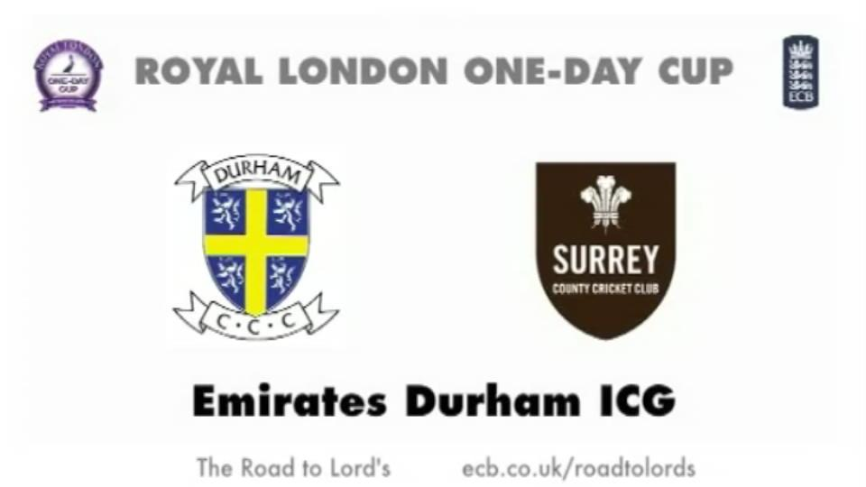 Durham v Surrey