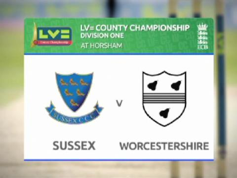 Sussex v Worcs - Day 4