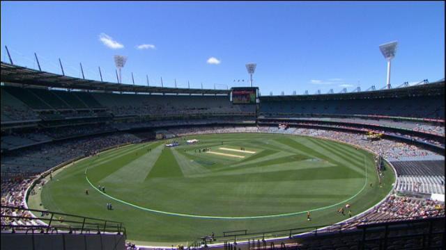 England v Australia: 1st ODI - Melbourne, England Innings
