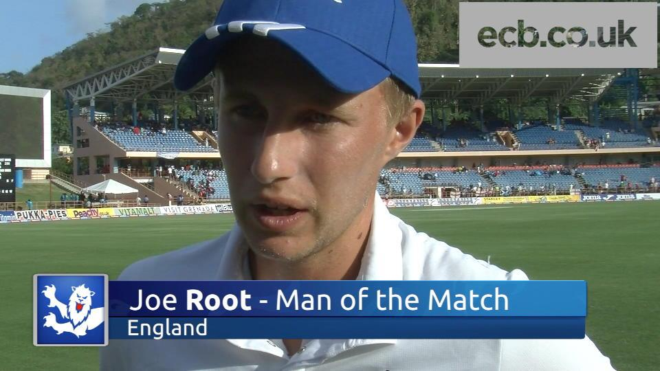 Hard work paid off - Root