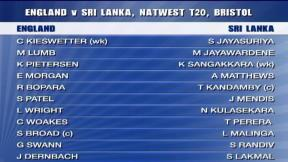 NatWest International T20 - Bristol - England innings