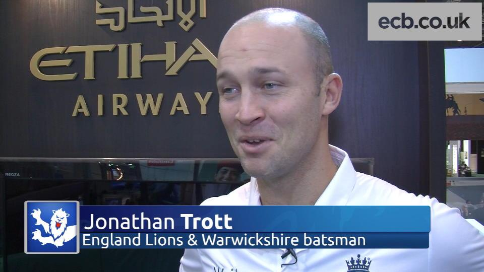 Trott excited to be back