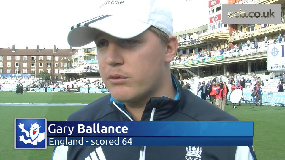 Gary Ballance buoyed by England progress