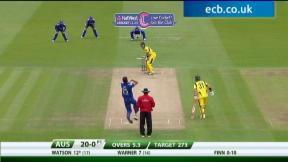 1st NatWest ODI – Lord's - Australia innings