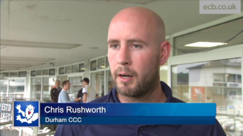 We're right in the game - Rushworth