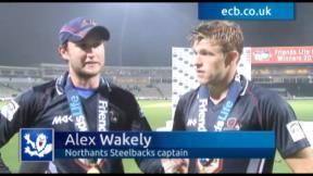 Dream day for Northants duo