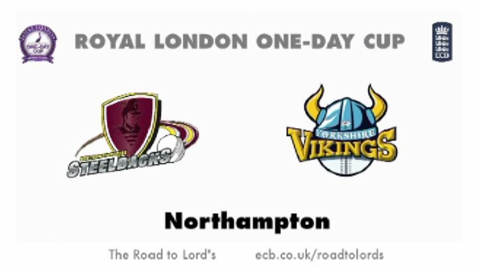Northants Steelbacks v Yorkshire Vikings