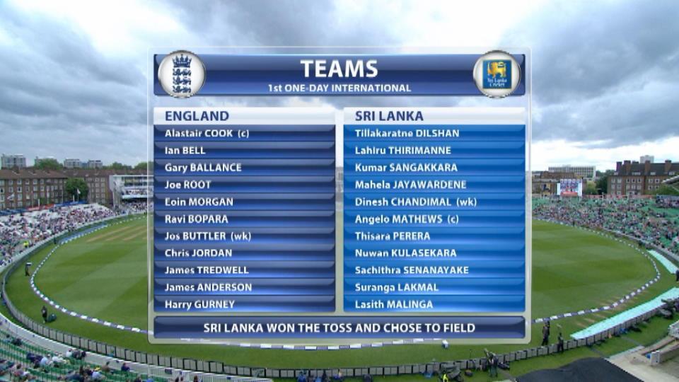 England v Sri Lanka - 1st ODI