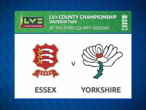 Essex v Yorkshire - Day 1 - Lyth keeps White Rose ticking