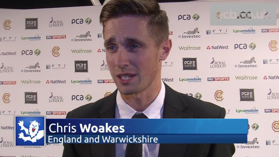 Woakes pleased with 'successful season'