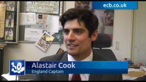 Alastair Cook - exclusive interview