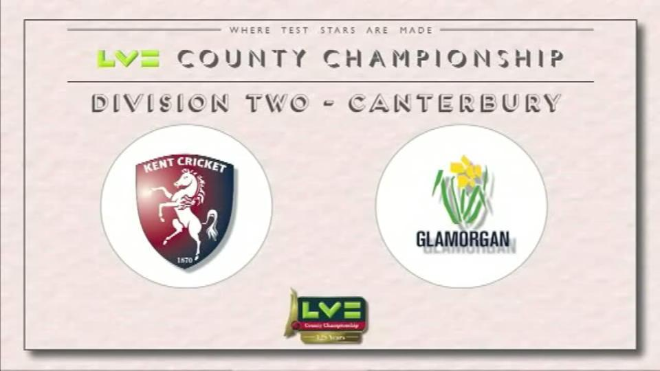 Kent v Glamorgan - Day 2