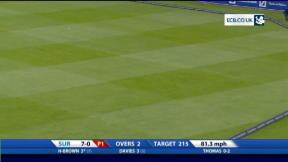 Clydesdale Bank 40 - Surrey innings