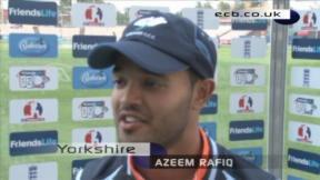 Rafiq sees Yorkshire home