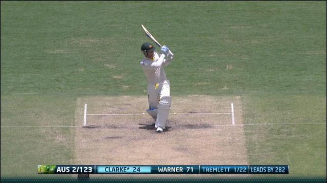 1st Ashes Test, Brisbane – Day 3 Morning