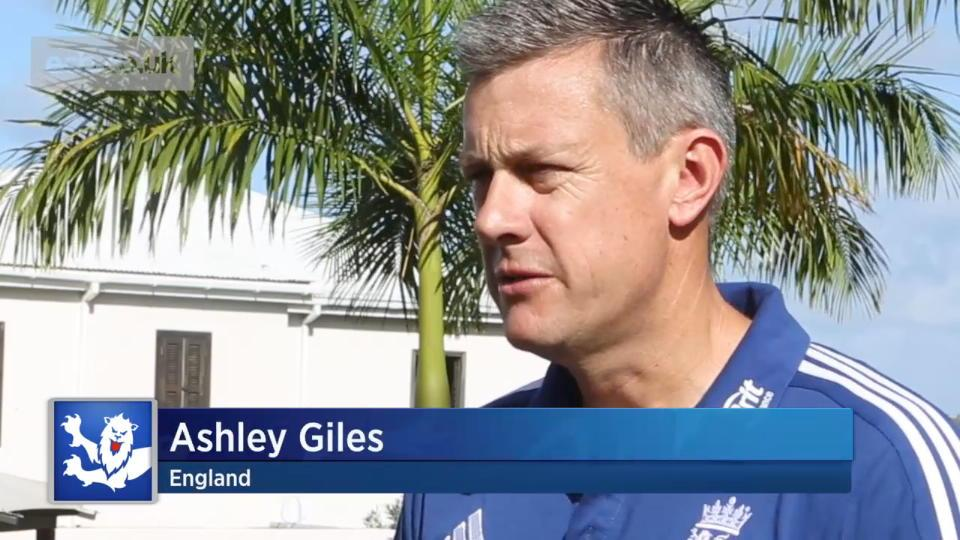 England are nearly there says Giles
