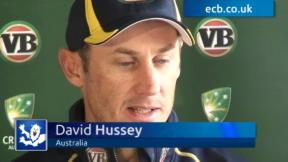 Hussey predicts tight series