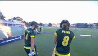 England v Australia - Women's Ashes T20, Australia Innings