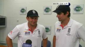 Ashes Exclusive with Bresnan and Cook