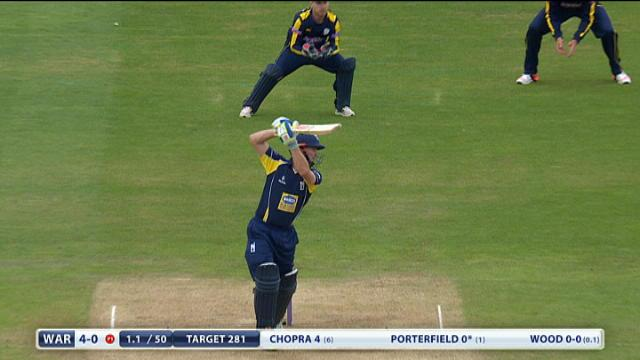 Warwickshire v Hampshire - Royal London One Day Cup, Warwickshire Innings