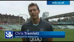 Tremlett thrilled to get Ashes call