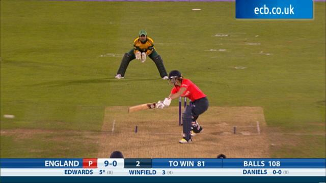 England Women v South Africa Women, NatWest Women's International T20 - England innings