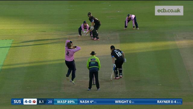 Middlesex v Sussex - Natwest T20 Blast - Sussex Innings