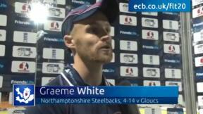 White stars in Steelbacks victory