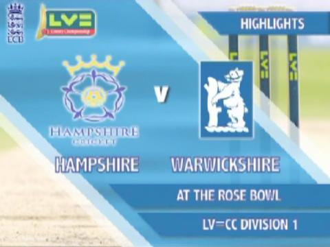 16 Sept - Hants v Warks - Day 4