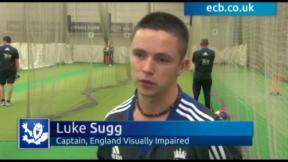 Sugg optimistic of England's hopes