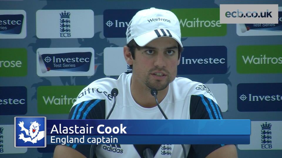 Captain Cook focused on series win