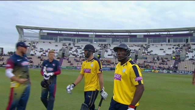 Hampshire v Kent Spitfires - NatWest T20 Blast, Hampshire Innings