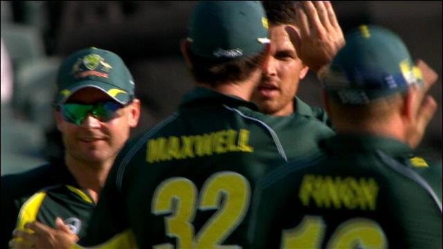 England v Australia: 5th ODI, Adelaide - England Innings